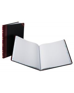 """Boorum & Pease® Feint-Ruled Book, 1602 1/2 Series, 10-1/8"""" x 12-1/4"""", 150 Pages, 46 Lines"""