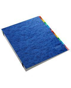 Pendaflex® Expanding Desk File, Alphabetic (A–Z), Letter Size, Blue, Each