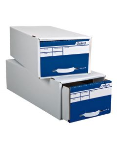 "Storage File Box - Corrugated Shell And Pull Drawer, 5 1/2"" X 8 1/2"""