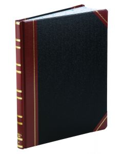 """Boorum & Pease® Feint-Ruled Book, 1602 1/2 Series, 10-1/8"""" x 12-1/4"""", 300 Pages, 46 lines"""