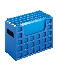 "Pendaflex® DecoFlex® Desktop File, 9-1/2"" H x 12-1/4"" W x 6"" D, Sapphire Blue, Each"