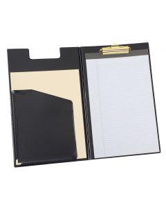 Clip Padfolio, Legal, Black