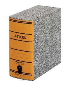 "Pendaflex® Alphabetic Box File, 5 1/4""H x 11""W x 11 5/8""D"