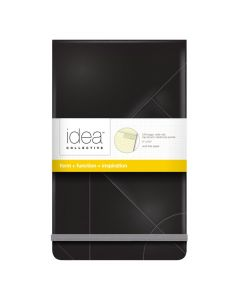 "Oxford® Idea Collective® Top-Bound Medium Hardcover Journal, 5"" x 8-1/4"", Legal Rule, Black Cover, 120 Sheets"