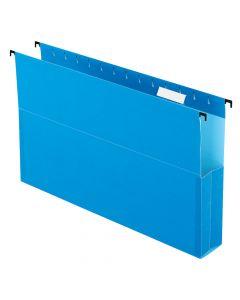 "Pendaflex® SureHook® Reinforced Hanging Box File, 2"", Legal, Blue, 1/5 Cut, 25/BX"