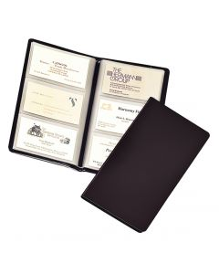 Sealed 72 Card File, Black
