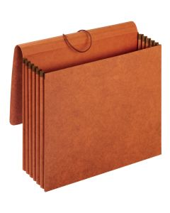 "Pendaflex® Wallets, 100% Recycled, 5.25"" Exp., Brown, Letter, 10 EA/BX"