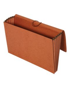 "Pendaflex® Wallets, 100% Recycled, 5.25"" Exp., Brown, Legal, 10/BX, 5 BX/CT"
