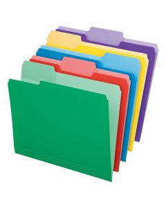 Write and Erase File Folders, Assorted
