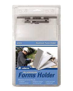"Adams Aluminum Forms Holder, 5-1/2"" x 8-1/2"" Forms, Bottom Hinge, 6/CT"