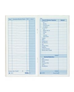 "Adams® Expense Record Book, 3-1/2"" x 6-1/2"""