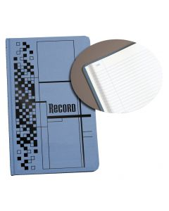 "Adams® Record Book, 7-5/8"" x 12-1/8"", 500 Pages"