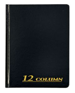 "Adams® Account Book, 12 Column, 7"" x 9-1/4"", 80 Pages"