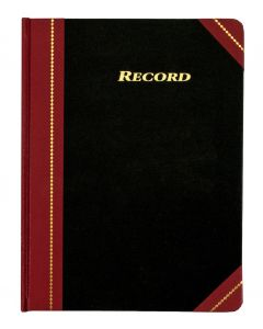"Adams® Record Book, 8-1/4"" x 10-3/4"", 300 Pages"