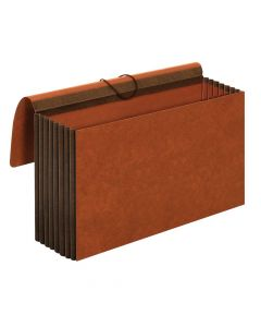 "Wallets, Heavy Duty, 7"" Exp., Brown, Legal, 25 EA/CT"