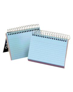 "Spiral Index Cards, 3"" x 5"", Assorted"