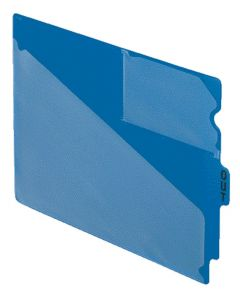 Poly End Tab Out Guides, Letter size, Blue