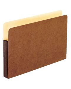 WaterShed® File Pockets, Legal size, Redrope