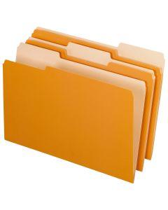Interior File Folders, Legal size, Orange