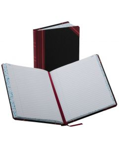 "Boorum & Pease® Account Book, 38 Series Record Ruled, 7-5/8"" x 9-5/8"", 300 Pages"