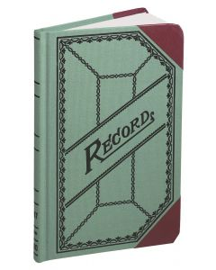 """Boorum & Pease® Miniature Account Book, Record Ruled, 6"""" x 9-1/2"""", 200 Pages"""