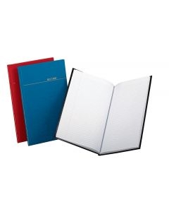 "Boorum & Pease® Account Book, Gold Line Series, Record Ruled. 7-1/4"" x 11-3/4"", 150 Pages"