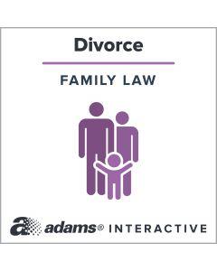 Adams® [California] Summary Divorce Forms, 1-Use Interactive Digital Legal Form