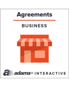 Adams® Affiliate Agreement, 1-Use Interactive Digital Legal Form