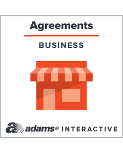 Adams® Buy-Sell Agreement, 1-Use Interactive Digital Legal Form