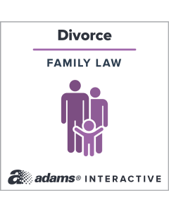 Adams® [Florida] Divorce (Dissolution of Marriage) Forms with Children, 1-Use Interactive Digital Legal Form