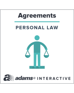 Adams® Bill of Sale, 1-Use Interactive Digital Legal Form