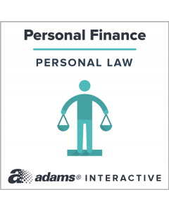 Adams® Promissory Note, 1-Use Interactive Digital Legal Form