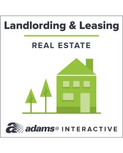 Adams® Security Deposit Receipt, 1-Use Interactive Digital Legal Form