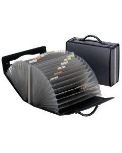 Pendaflex® Portafile™ Expanding Organizer, 26 Pockets, Smoke, Letter Size