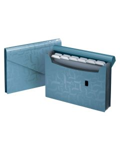13 Pocket Expanding Files, Blue