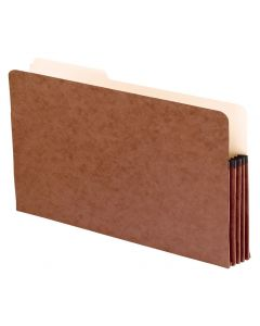 File Pockets with Tab, Legal size, Redrope
