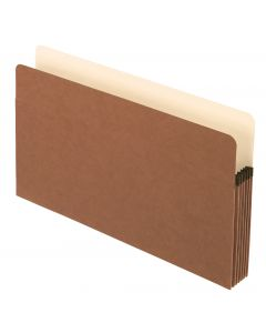 "Pendaflex® Pockets, 5.25"" Exp., Brown, Legal, 25/BX, 4 BX/CT"