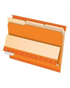 Interior File Folders, Letter size, Orange
