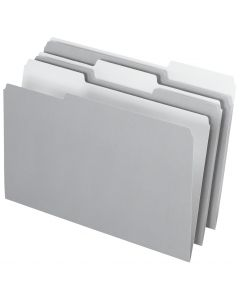 Interior File Folders, Legal size, Gray