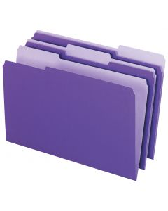 Interior File Folders, Legal size, Violet