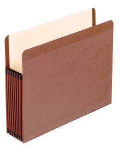 Premium Reinforced File Pockets, Letter size, Redrope