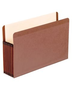 Premium Reinforced File Pockets, Legal size, Redrope