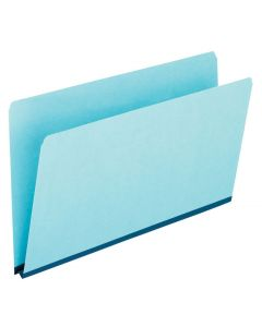 Pressboard Expansion File Folders, Legal size, Blue
