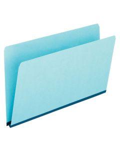 Pressboard Expansion File Folders, Legal size, Blue