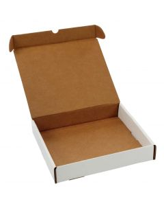 12 x 10-1/2 x 2-1/8  Corrugated Ring Binder Mailer for Protection During Transit, Preprinted White, 25 per Carton